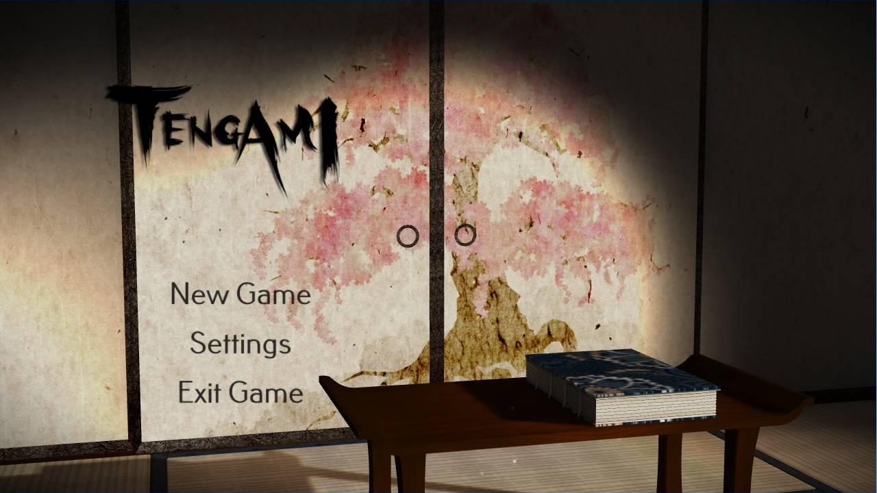 Tengami游戏主界面